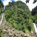 Trafalgarfalls, eine der höchsten Wasserfälle Dominicas