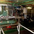 Maschinenraum, unheimlich laut