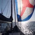 Wie schön endlich wieder segeln
