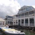Lokale und die Marina an der Waterfront