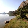 Wanderweg entlang der Lagune