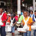 Trommelvorführung der Jugend