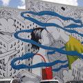 Graffiti zieren die Wände