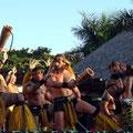 Am Abend tritt noch eine Tanzgruppe aus den Marquesas auf