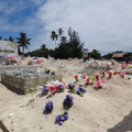 Eigenartiger Friedhof