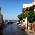 Promenade über Hafenplatz