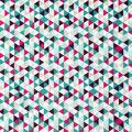13 Dreiecke Bunt