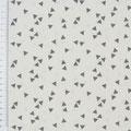15 Weiß mit grauen Dreiecken