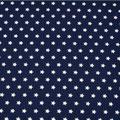 9 Sterne Dunkelblau