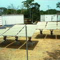 Cameroon - pv-module cleaning after installation and before operation