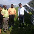 visit at Ideematec demonstration site in Wallerfing