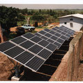 10 kwp PV-system for hybrid power supply of transmission station in Nigeria
