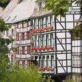 Fachwerhäuser in Monschau Eifel