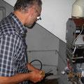 auch die Gas-Heizung vom Jakuzzi mußte mal repariert werden