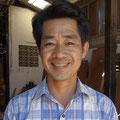 Leng Pohy. Sculpteur sur bois et pierre. Siem Reap.