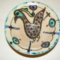 plat oiseaux - Najo - 20cm de diamètre
