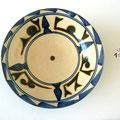 Plat motif calligraphique5 - Najo  - 20cm de diamètre