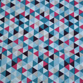 Géométrique Fushia