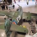 Besuch des Deutschen Museums in München, das erste strahlgetriebene Flugzeug Me262