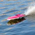 Rennboot mit BL Antrieb und 2 LiPos (2s,1P, 5000 mAh)