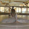 Aufklärungsflugzeug Rumpler CVI aus dem 1. Weltkrieg im Deutschen Museum
