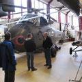 Auf dem Weg nach Wittmund Zwischenstop im Hubschraubermuseum Bückeburg.