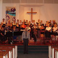 Doyle Preheim conducted the 2004 Retreat Choir