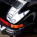 Porsche 6 -  2015   Acrylfarbe auf LW  -    1,2m x 1,2m