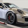 Porsche 34 -  2018   Acrylfarbe auf LW  -    1,0m x 2,0m