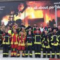 18. Oktober: Kamerad Andreas Drachsler an der International Fire Academy in Balsthal (Schweiz)