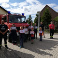 17. Juli: Preisübergabe Feuerwehr-Malwettbewerb