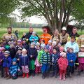"""03. Mai: Besuch Kindertagesstätte """"Schnatterschnabel"""" in Heubisch"""