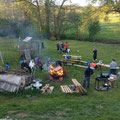 17. Mai: Zeltlager der Jugendfeuerwehr