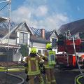 30. Oktober: Dachstuhlbrand in Schwärzdorf