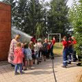"""02. August: Besuch Hort der Gemeinschaftsschule """"Joseph Meyer"""" in Schwärzdorf"""