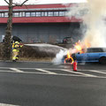 06. März: Fahrzeugbrand zwischen Föritz und Sonneberg