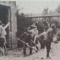 Arbeitseinsatz am neuen Spritzenhaus 1969.