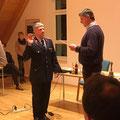 10. Dezember: Ernennung zum 1. stellvertretenden Ortsbrandmeister & Beförderung zum Brandmeister des Kameraden Andreas Drachsler