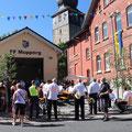 29. Juni: Gerätehauseinweihung in Mupperg