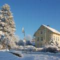 Winterliche Impression in der Flensburger Straße