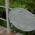 Gedenktafel an der Brücke zum Prinzen-Palais