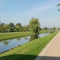 """Der """"Kanal"""" auf den Königswiesen"""