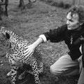 Krankenstation für Leoparden, Hellsgate Nationalpark Kenya - 2005