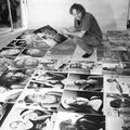 """Vorbereitung der Ausstellung """"4 estações no brasil"""" - 2003"""