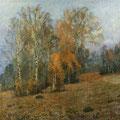 И. Левитан «Октябрь»