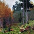 """И.Левитан """"В лесу осенью"""""""