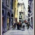 Rue de Bergamo, Italie