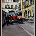 Tramway à Grinzing