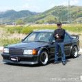 W201 EVO AMG P.P .・・・rokuでおます。