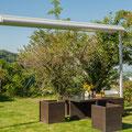 freistehende Markise Boxmobil von STOBAG - perfekt für den Garten